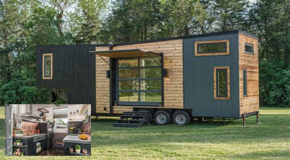 High-end Tiny House and RV Hybrid